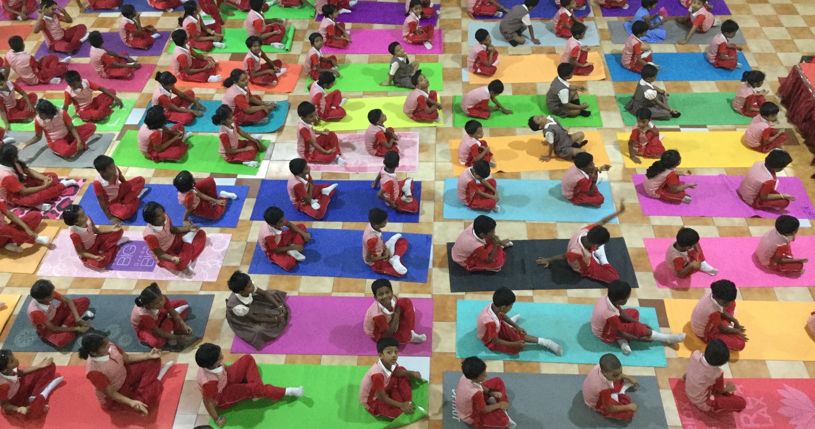 5th International Yoga Day – Kshatriya Vidhyasala Centenary